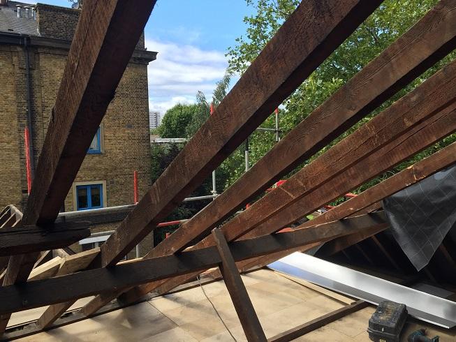 Loft decking installation