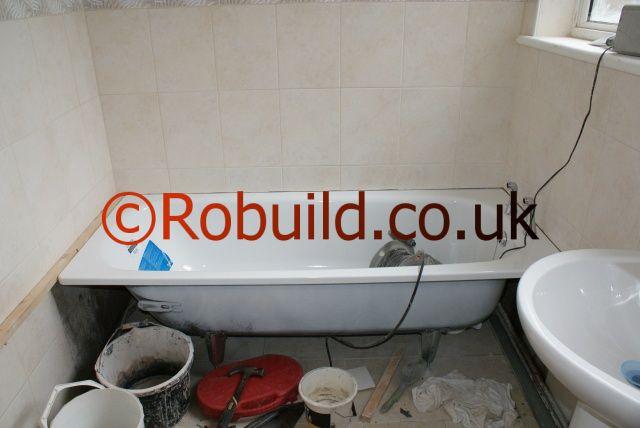 tiling bathroom london