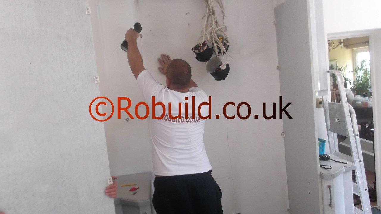 power drill kitchen fitter
