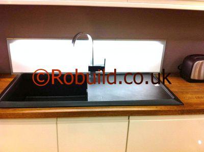 kitchen sink worktop