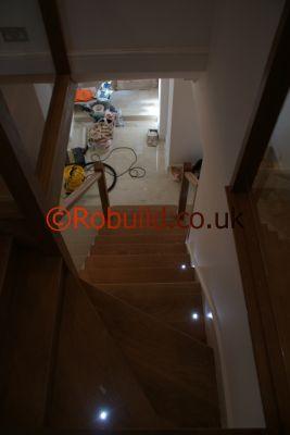 stairs floor lights